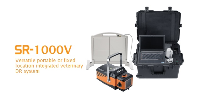 Integrated Veterinary X-ray System